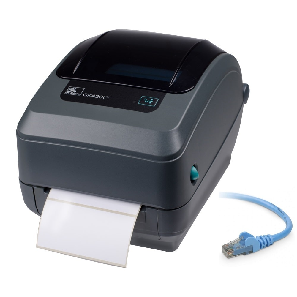 Labelling Zebra GK420T Label Printer