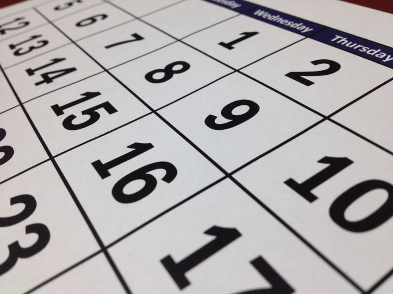 Enquiries & Reports - Calendar